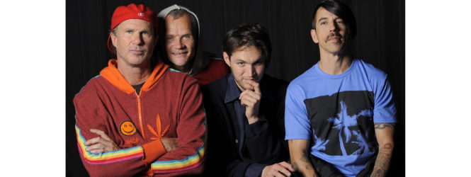 Red Hot Chili Peppers: nuovo album
