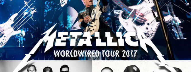 Metallica in tour con gli Avenged Sevenfold e Volbeat
