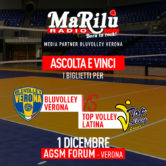 Ascolta e Vinci – BluVolley Verona x Top Volley Latina