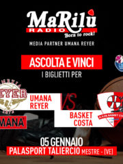 Ascolta e Vinci – Umana Reyer vs Basket Costa