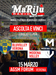 Ascolta e Vinci – Blu Volley Volley vs Leo Shoes Modena Volley